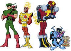 Dc Comics Superheroes, Dc Comics Art, Marvel Dc Comics, Comic Books Art, Comic Art, Batman Concept, Superman Characters, Brave And The Bold, American Cartoons