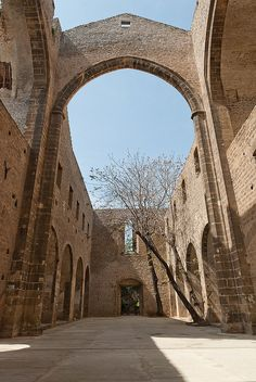 Chiesa di Santa Maria dello Spasimo (1509) Palermo - #Sicilia #Italy