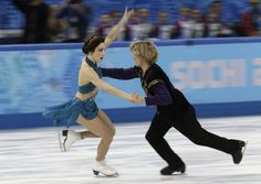 "Meryl Davis and Charlie White dominated the team ice dancing event this weekend with Beyoncé's ""Drunk In Love"""