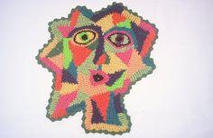 Art by Purdence Mapstone. Crochet as Art ~ Crochet Queen: Royal Ramblings