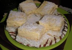 Raffaello szelet Zsuzsamamától Camembert Cheese, Mashed Potatoes, Bakery, Food And Drink, Cooking Recipes, Sweets, Breakfast, Ethnic Recipes, Hungarian Food