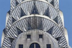 Art Deco - The Chrysler Building NYC..the tallest building in the world 1930-31