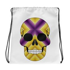 Abstract Wear is the only online store that focuses on abstract designs on Drawstring Bags and various other products, with a unique touch. Skulls, Drawstring Backpack, Unique, Bags, Color, Fashion, Handbags, Moda, Fashion Styles