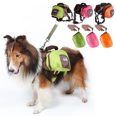 large dog waterproof backpack supplies big dogs foldable outdoor traval package products pet accessories pets bags 3 colors
