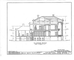 Belle Grove Cross Section | Flickr - Photo Sharing!