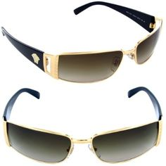 bc200be3e90 Amazon.com  Versace Sunglasses - 2021   Frame  Gold Brown Lens  Brown Mirror  Silver  VERSACE  Shoes