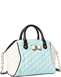 BE MY BOW LARGE SATCHEL MINT