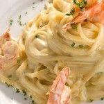 Espagueti Con Camarones (Gambas) y Crema de Chipotle