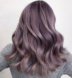 Silver Lavender Hair, Dark Silver Hair, Silver Ombre Hair, Lavender Hair Colors, Hair Color Purple, Platinum Silver Hair Color, Blue Grey Hair, Silver Blonde, Purple Roses