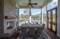 Outdoor Living Ideas | Spacious Backyard with Fireplace | Luxury Real Estate South Carolina