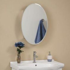 Bathroom Medicine Cabinets Oval Mirrors