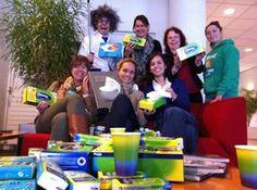 Kleenex helpt #verkouden Nederland via originele winacties