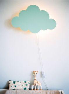 Nuevas ideas románticas para iluminar el cuarto del bebé