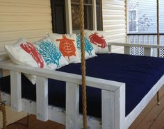 Swinging Daybed, This is the basic version, yours can be customized!