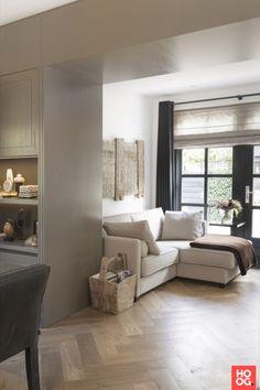 Luxe woonkamer inrichting met luxe meubels