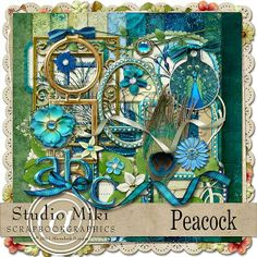 Peacock Page Kit