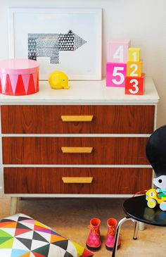 stylish and fab kids room