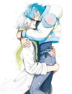 I haven't posted in forever, gomen >.< Aoba x Clear <3 (DRAMAtical Murder)