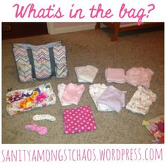The Hospital Bag 411 part 1 | sanity amongst chaos