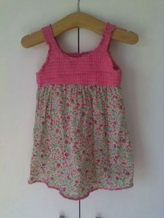 Crochet toddler sundress