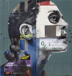 La nuova vita del floppy disk by Nick Gentry