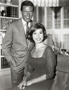 """(P) Dick Van Dyke & Mary Tyler Moore starred in """"The Dick Van Dyke Show"""" from 1961-1966 ~ article by Pat Gallagher"""