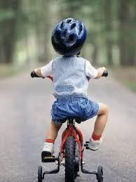 Helmet Safety when riding bikes @StriderBikes @Virág Tóth