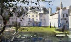 Pedro Orozco Tristán DEMO EN AIGUILLON (FRANCE) Watercolor Artists, Artist Painting, Watercolour, Cottage Homes, Art Tutorials, Painting Inspiration, Drawings, Cottages, Panda