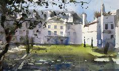 Pedro Orozco Tristán DEMO EN AIGUILLON (FRANCE) Watercolor Artists, Artist Painting, Watercolour, Joseph Zbukvic, Cottage Homes, Art Tutorials, Painting Inspiration, Architecture, Drawings