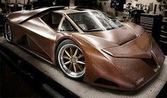 Siapa bilang mobil keren harus dari bahan mahal? Lihat deh Wooden Super Car ini deh! #SMARTtechno