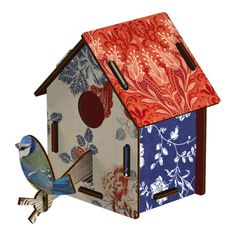 Countryside bird house by MIHO Unexpected Things