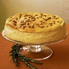 South Beach Diet Phase 1 lemon cheesecake with pinenuts