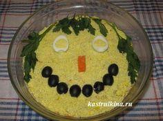 слоеный салат с консервированными сардинами - простой рецепт из доступных продуктов