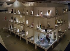 The House of Victor & Rolf at the Barbican Art Gallery in London in 2008