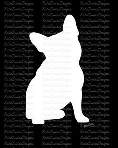 French Bulldog Printables SET OF 3 Home by KatieDutraDesigns
