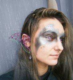 Elven/Elf Ear Cuffs/Wraps  Night Guardian by NeehellinsRealm, $44.00
