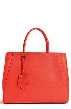 Fendi  2Jours Elite  Leather Shopper f043117d81f9c