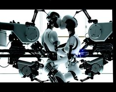 Bjork's All is Full of Love - Robots in B&W