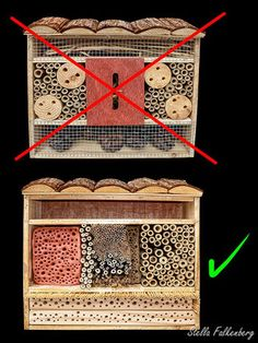 Insektenhotel Nisthilfe Insektennisthilfe LIDL insect nesting aid insect hotel m Garden Bugs, Garden Insects, Garden Pests, Bug Hotel, Mason Bees, Bee House, Beneficial Insects, Save The Bees, Bee Keeping