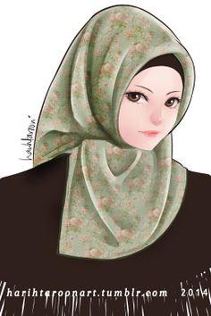 Turkey Hijab by harihtaroon.deviantart.com on @deviantART