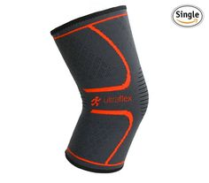 Amazon.com: Ultra Flex Athletics Knee Compression Sleeve Support for Running, Jogging, Sports, Joint Pain Relief, Arthritis and Injury Recovery-Single Wrap: Sports & Outdoors