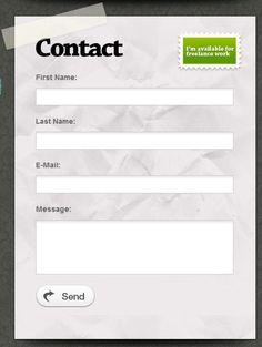 Creative web Forms.