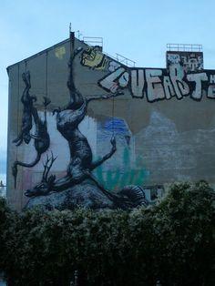Spectacular street art, Berlin