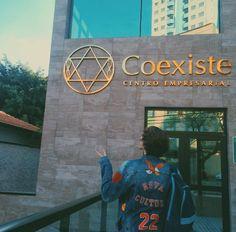 That's my school! ✌❤ #novacultura #coexistemelhorexperiencia #erick #mafra #erickmafra #ogds #ogarotodosonho #novacultura #coexiste