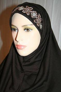 2Pc Amira Hejab Hijab Scarf shayla Abaya Veil Muslim
