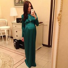 Proof that just because you have a baby bump doesn't mean you can't still be a fashionista