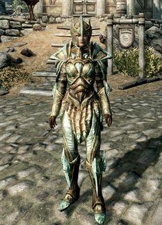 Skyrim-golden armor