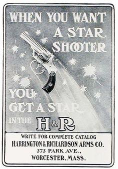 H&R Revolver (1906) Vintage Ad