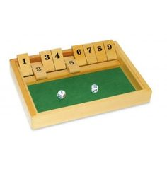 Shut The Box Game : Activites for Elderly People with dementia and Alzheimer's Memory Games For Seniors, Games For Elderly, Elderly Activities, Dementia Activities, Senior Activities, Crafts For Seniors, Elderly Care, Winter Activities, Numeracy Activities