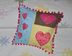 hear pillow patterns | Heart Pillow Patternpdf download below: Valentine Heart Pillow Pattern ...